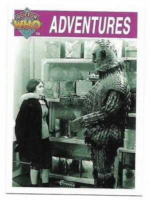 1995 Cornerstone DR WHO Base Card (130) Adventures