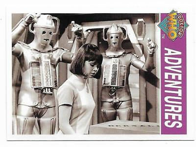 1995 Cornerstone DR WHO Base Card (132) Adventures