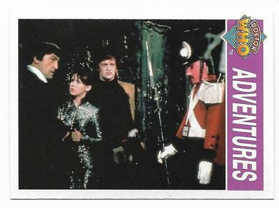 1995 Cornerstone DR WHO Base Card (133) Adventures