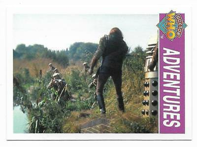1995 Cornerstone DR WHO Base Card (139) Adventures