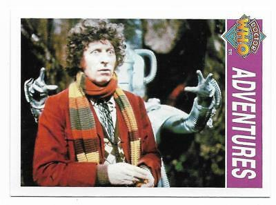 1995 Cornerstone DR WHO Base Card (144) Adventures