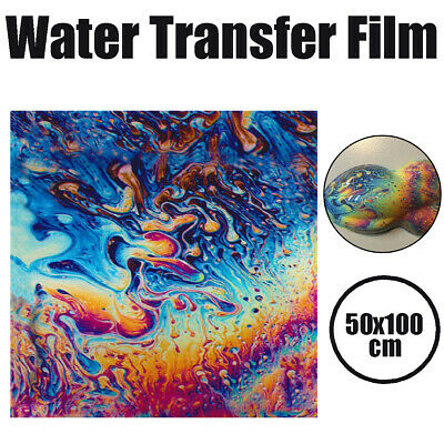 50x100cm Hydrographic Water Transfer Printing Dipping Graffiti Film Oil Slick