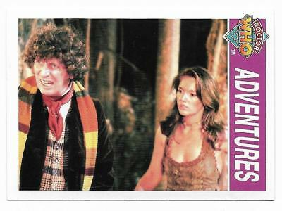 1995 Cornerstone DR WHO Base Card (148) Adventures