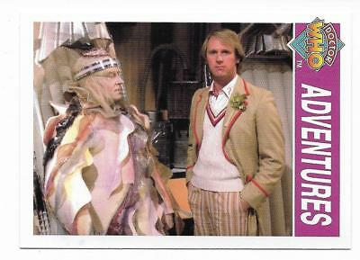 1995 Cornerstone DR WHO Base Card (158) Adventures