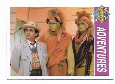1995 Cornerstone DR WHO Base Card (163) Adventures