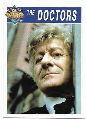1995 Cornerstone DR WHO Base Card (170) The Doctors