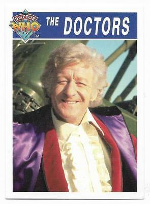 1995 Cornerstone DR WHO Base Card (171) The Doctors
