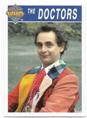1995 Cornerstone DR WHO Base Card (178) The Doctors