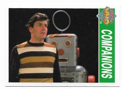 1995 Cornerstone DR WHO Base Card (182) Companions