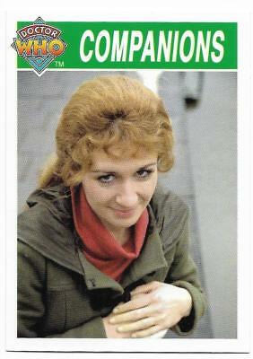 1995 Cornerstone DR WHO Base Card (185) Companions