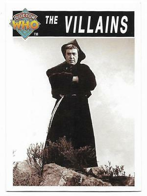 1995 Cornerstone DR WHO Base Card (194) The Villains