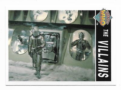 1995 Cornerstone DR WHO Base Card (195) The Villains