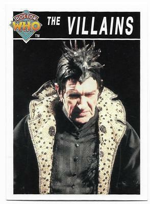 1995 Cornerstone DR WHO Base Card (201) The Villains
