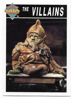 1995 Cornerstone DR WHO Base Card (202) The Villains