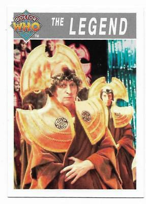 1995 Cornerstone DR WHO Base Card (204) The Legend