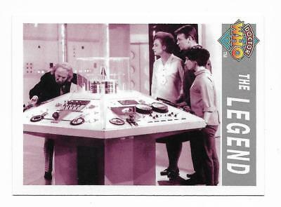 1995 Cornerstone DR WHO Base Card (205) The Legend