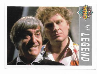 1995 Cornerstone DR WHO Base Card (211) The Legend