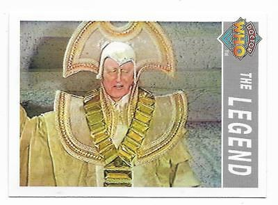 1995 Cornerstone DR WHO Base Card (215) The Legend