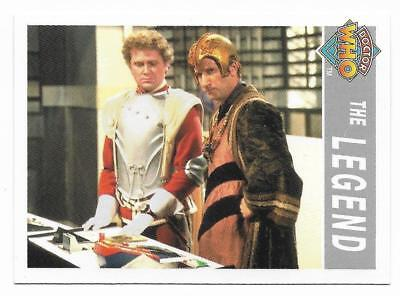 1995 Cornerstone DR WHO Base Card (216) The Legend