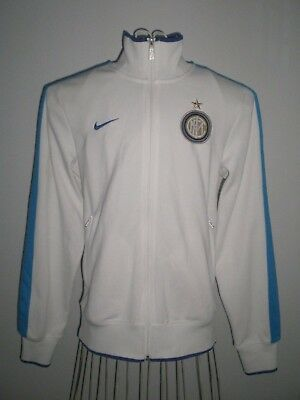 Inter Milan (Italy) Nike Zip Track Top / Training Jacket S - Small Adults / Mens