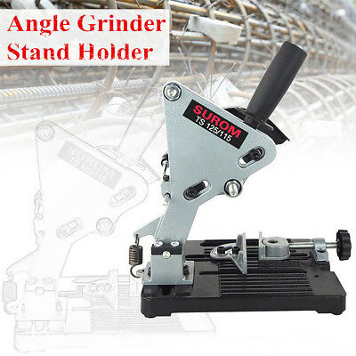 Electric Angle Grinder Cutter Holder Support Bracket Stand Dock Cast Iron Base