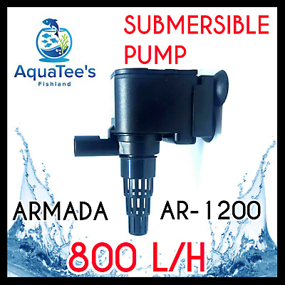 Armada Ar-1200 Submersible Pond/aquarium Water Pump 800 L/h Marine/aqua Fountain