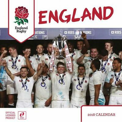 The Official England RFU Rugby Calendar 2018