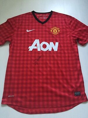 Eric Bailly Hand Signed Autograph Manchester Man United Football Shirt COA