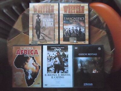 lotto stock film dvd western e altro,offerta