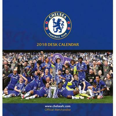The Official Chelsea FC Desktop Calendar 2018
