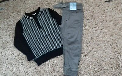 Boys Bnwt outfit jumper and jeans 2-3 years