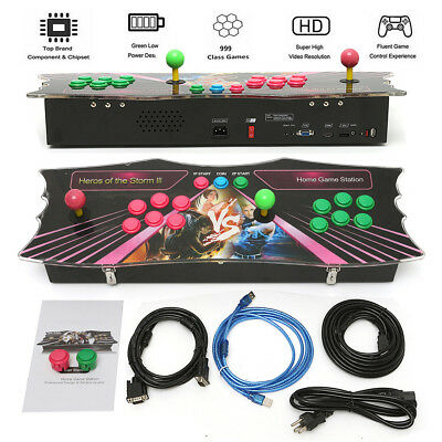 999 In 1 Arcade Game Console Machine Pandora's Box 5S+ Storm Video Fight Games