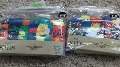 Boys Bnwt M&S pants x 12 briefs 2-3 years