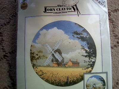Bn Cross Stitch 'corn Mill'