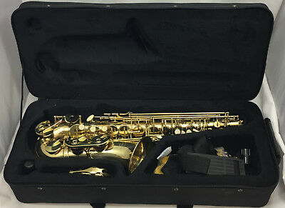 Elkhart 100AS Saxophone with Case - Fast Delivery.