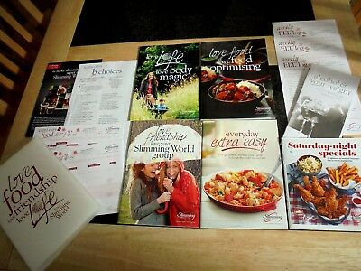 Latest Slimming World Starter Pack NEXT DAY, Complete pack + Extra Recipe Bookle