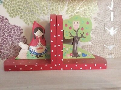 Little Red Riding Hood Bookends sass and belle children fairytales