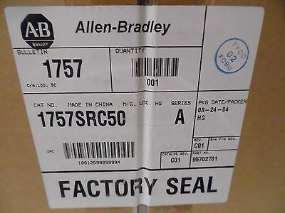 Allen Bradley 1757SRC50 Redundancy Module Cable  164 FT 50 meter New Sealed Box