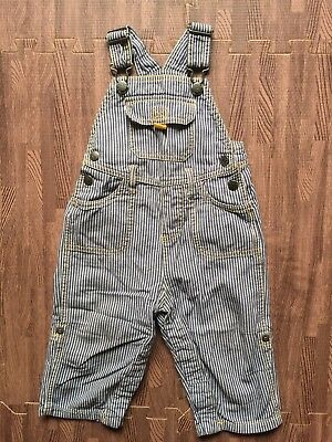 Baby Boden Stripe Dungarees 12-18 Months