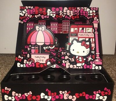 OPI HELLO KITTY COUNTER DISPLAY ONLY Collectors Edition 3D Display