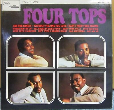 Four Tops – Four Tops – TML 11010 Mono LP / Vinyl / Album
