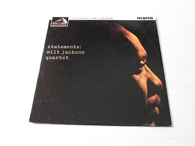 Milt Jackson Quartet Statements Lp Uk Hmv Records 1962 Mono Mjq Top Copy