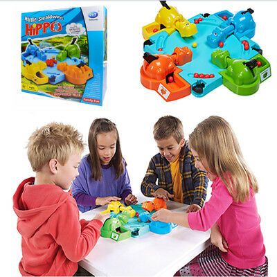 Kids Child Hungry Frogs Hippos Game Chrismas Funny Gift Family Party Board Toys