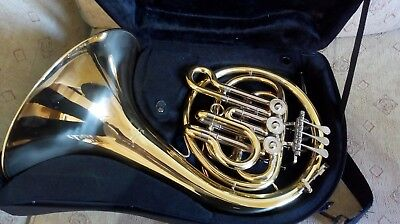 Mini Bb single French Horn by Elkhart