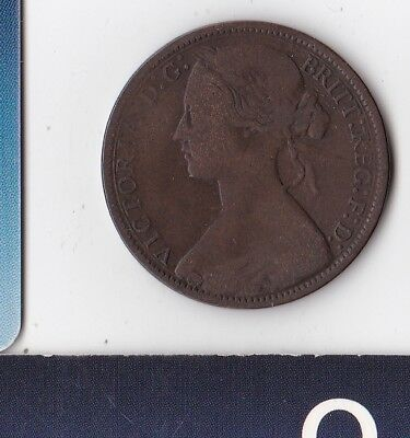 United Kingdom - Great Britain - England - HM Queen Victoria - One Penny 1874 H