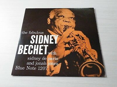 The Fabulous Sidney Bechet Lp France Blue Note Records 1984 Reissue Of 1958 Lp
