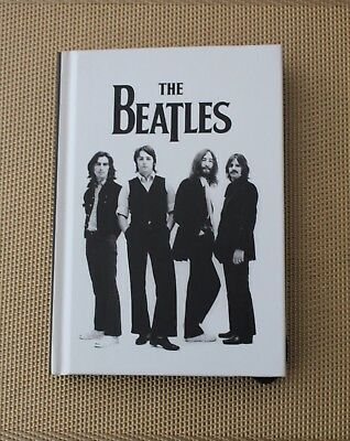 The Beatles Hardback Notebook Officially Licensed Lined Paper