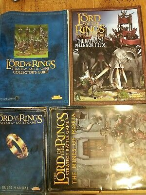 Games Workshop LORD OF THE RINGS: RULES, BATTLE OF PELENNOR, MINES OF MORIA