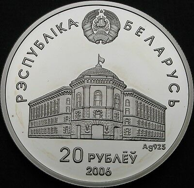 BELARUS 20 Roubles 2006 Proof - Silver - Commonwealth Independant States - 717 ¤