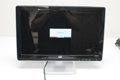"""HP 2009M 20"""" Wide Screen Monitor with Built In Speakers FV583A - Working!"""